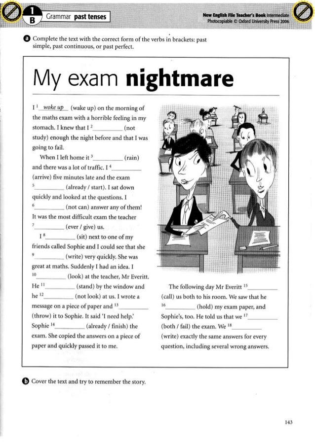 Past Grammar Worksheet