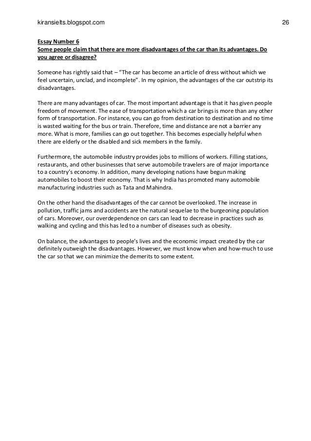 Capital punishment should be abolished | Band 7 essay sample