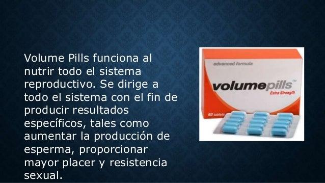 Pastillas Para Producir Mas Esperma Volume Pills