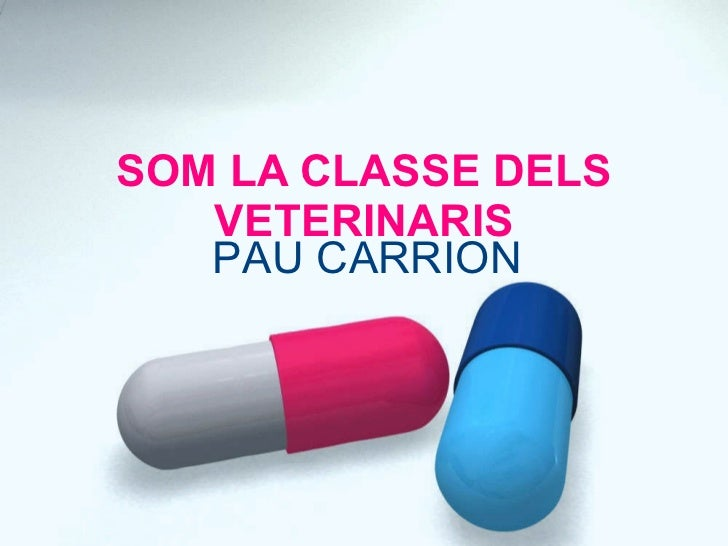SOM LA CLASSE DELS VETERINARIS PAU CARRION