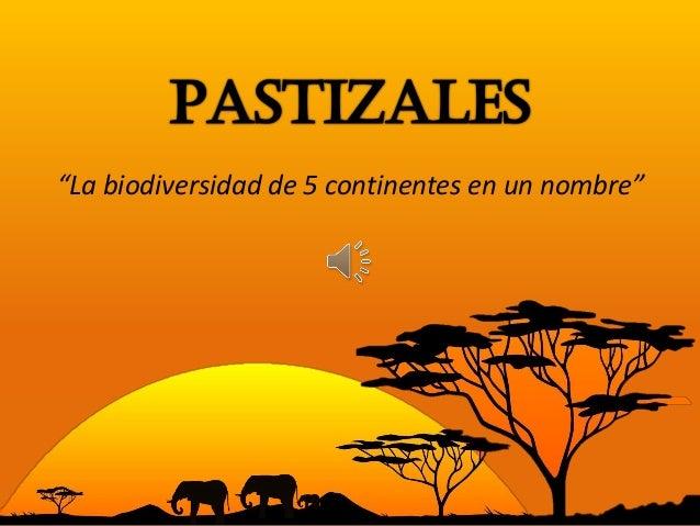 """""""La biodiversidad de 5 continentes en un nombre"""""""
