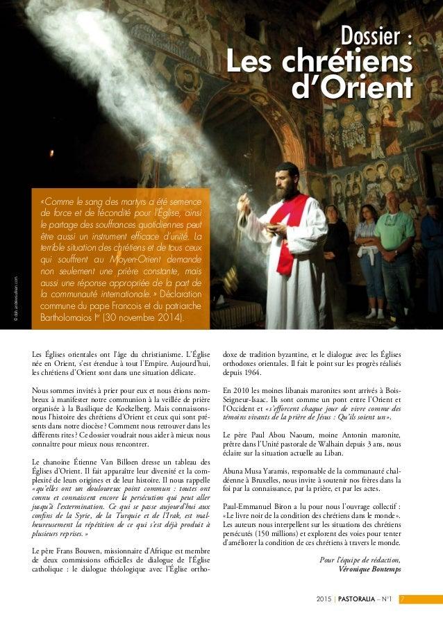 Les Églises orientales ont l'âge du christianisme. L'Église née en Orient, s'est étendue à tout l'Empire. Aujourd'hui, les...