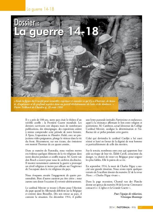 La guerre 14-18  Dossier :  La guerre 14-18  Il y a près de 100 ans, notre pays était le théâtre d'un  terrible conflit : ...
