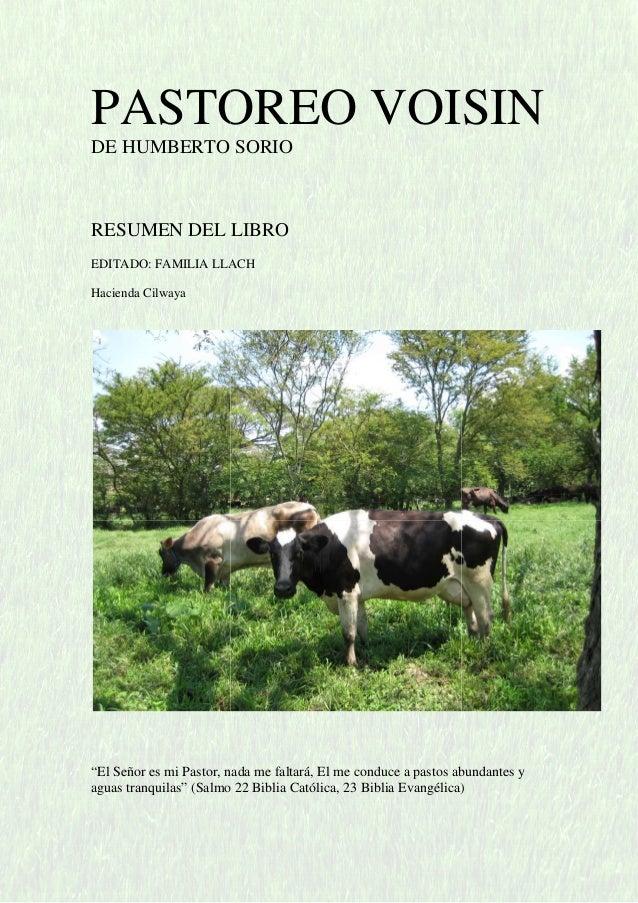 PASTOREO RACIONAL VOISIN LIBRO PDF DOWNLOAD