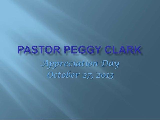 pastor appreciation day 2013