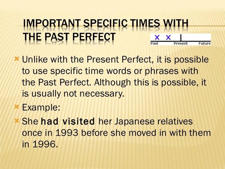 Past Perfect Presentation