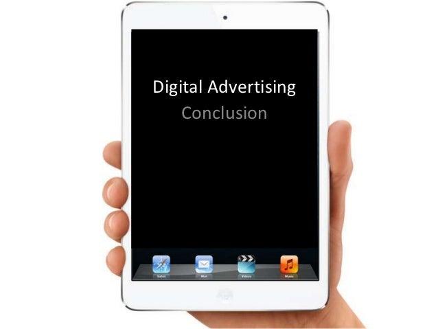 Digital Advertising    Conclusion