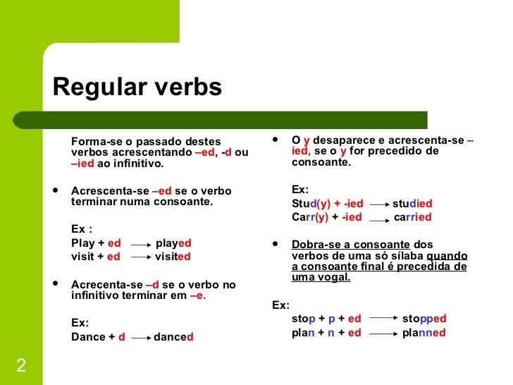 Past Simple 1 Slide 2