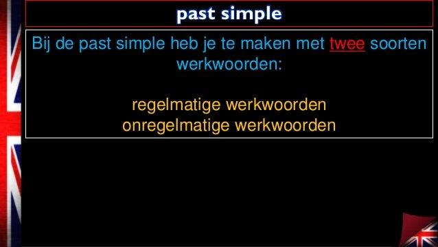 Past simple Slide 3