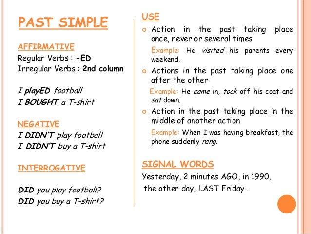 Past simple - past continuous