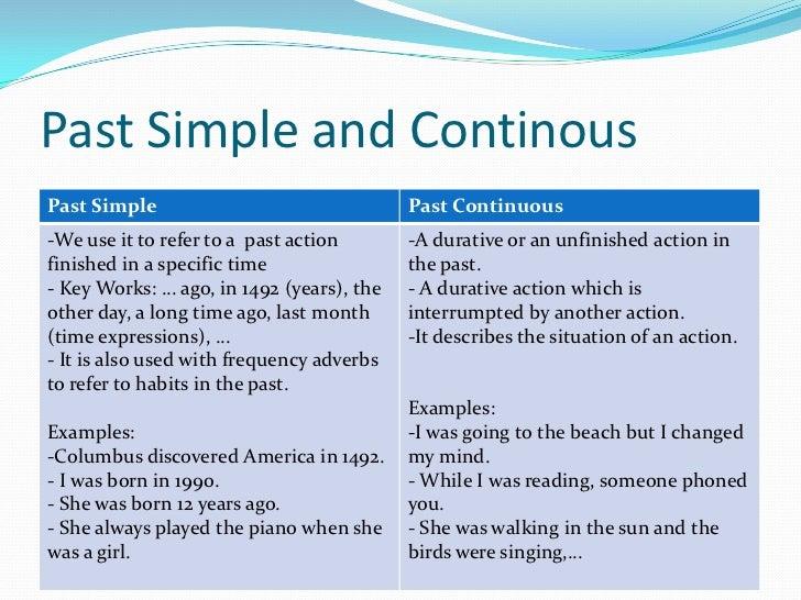 Past simple past continuous (3º eso)
