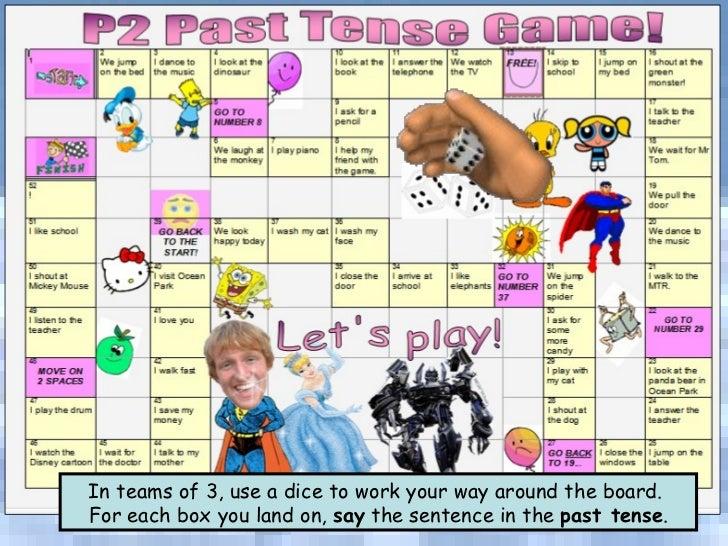 Tomu0026#39;s TEFL - Past Tense Verbs