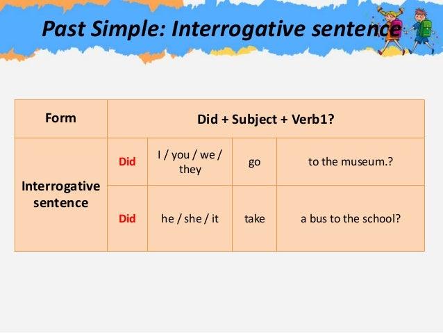 habitual past examples sentences