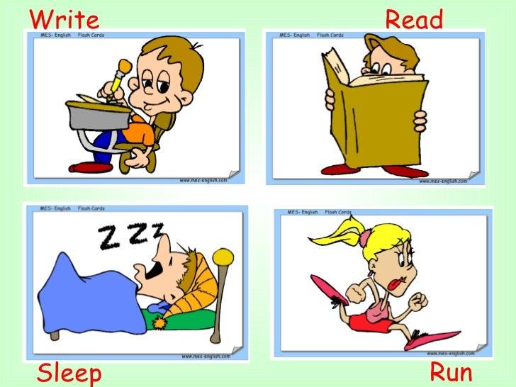 Read  Write  Sleep  Run