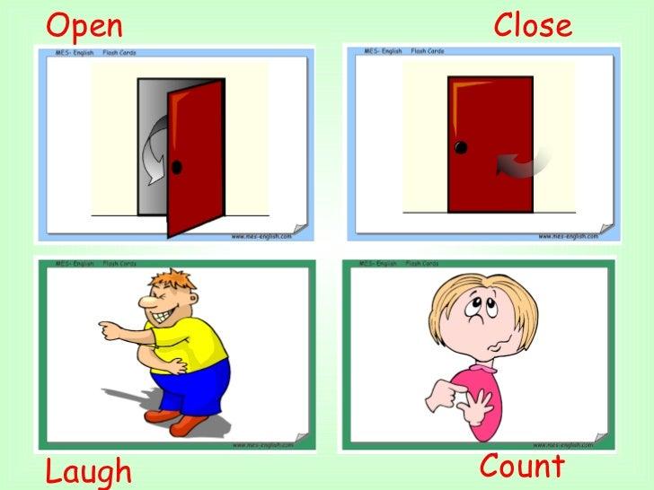 Count  Laugh  Close Open