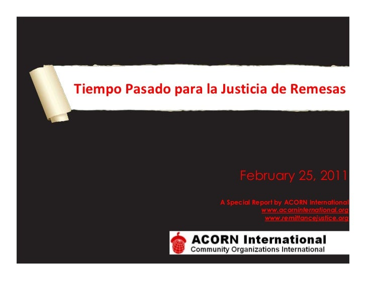 Past time for remittance justice   spanish final