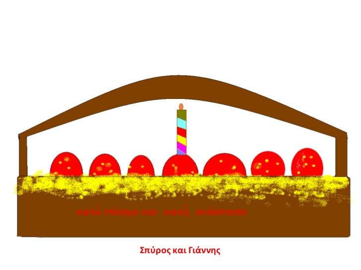 Παρουσίαση με ευχές για το Πάσχα