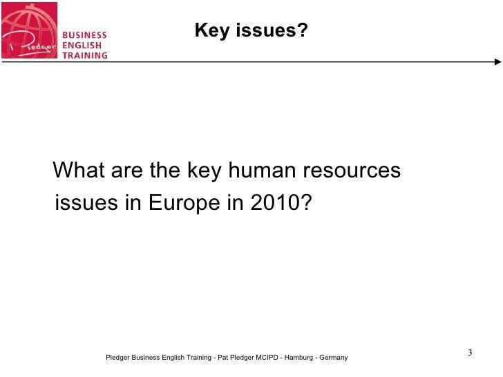 English for human resources management (workshop) Slide 3