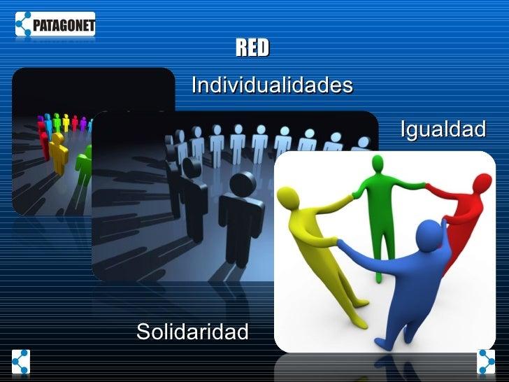 RED  Individualidades Solidaridad Igualdad