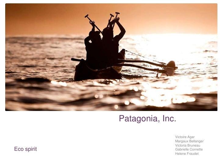 +             Patagonia, Inc.                           Victoire Agar                           Margaux Bellanger         ...