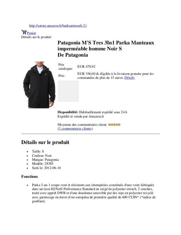 http://astore.amazon.fr/budisantosodi-21PanierDétails sur le produitPatagonia MS Tres 3In1 Parka Manteauximperméable homme...