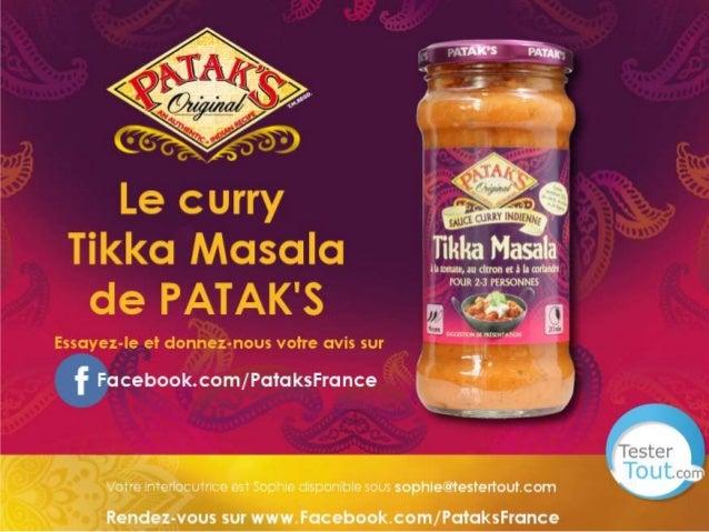 Curry PATAKs : le guide de découverte TesterTout