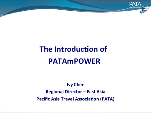 The	  Introduc:on	  of	                            	      PATAmPOWER                             	                       I...