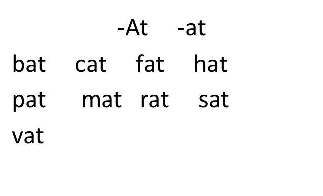 Pat, Cat, And Rat (We Read Phonics: Level 1)