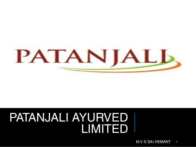 Patanjali Ayurved Limited (PAL)