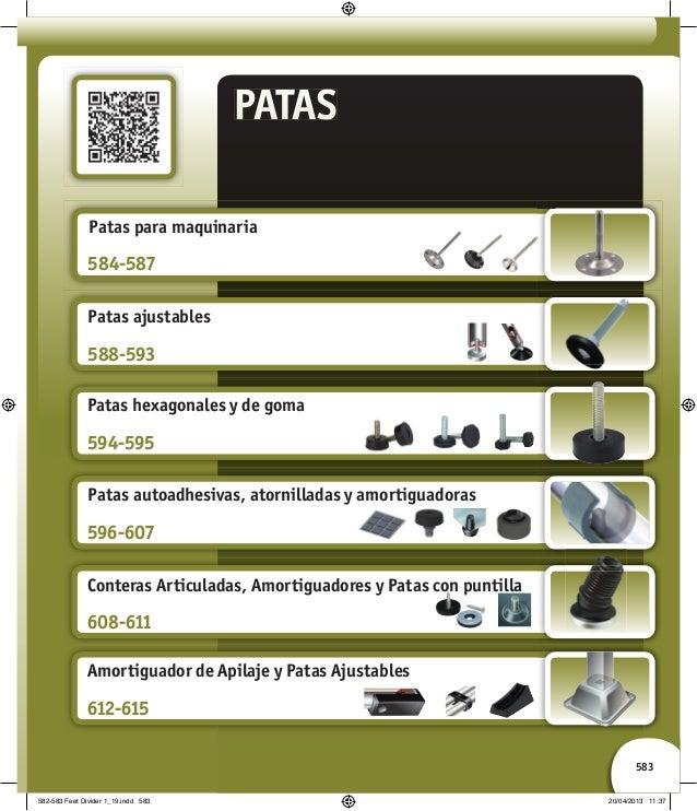 Patas para mobiliario y maquin ria for Conteras de goma