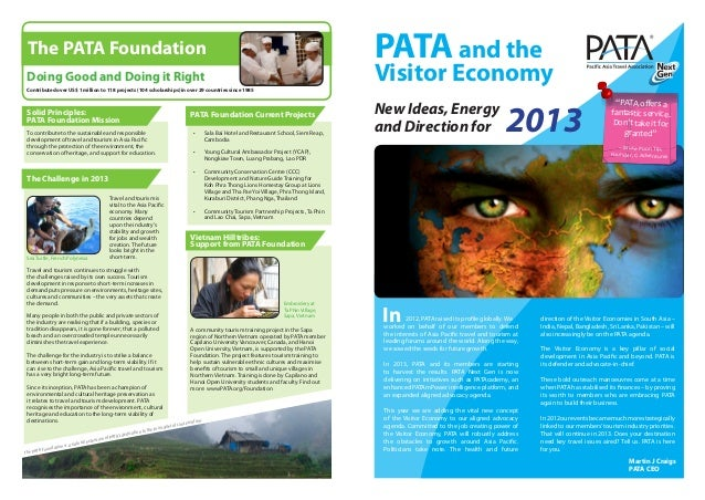 The PATA Foundation                                                                                                       ...