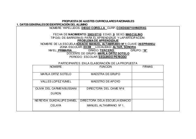 COMISION NACIONAL SEP-SNTE DE CARRERA MAGISTERIAL FACTOR APROVECHAMIENTO ESCOLAR (PRIMERA VERTIENTE) PUNTAJE ADICIONAL PAT...