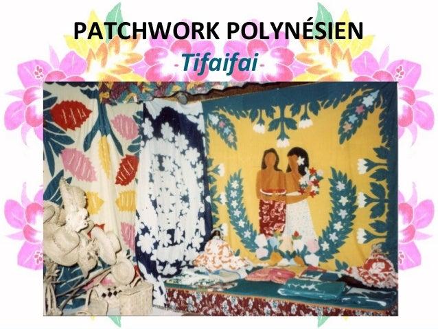 PATCHWORK POLYNÉSIEN Tifaifai