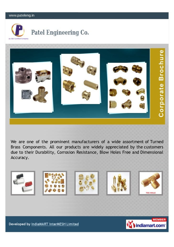 We are one of the prominent manufacturers of a wide assortment of TurnedBrass Components. All our products are widely appr...