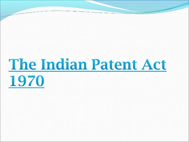 patent act 4 the patents act, 1970 section 2 an assignee is a person to whom an assignment is made grantee assignee in fact is one to whom an assignment has been made in .