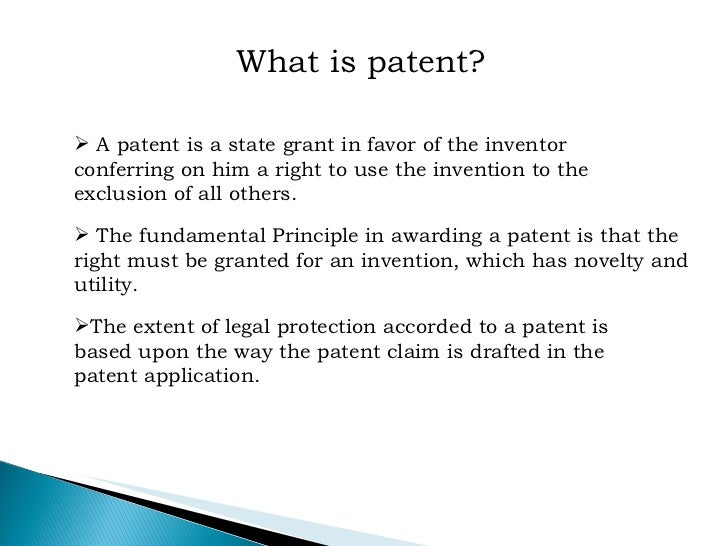 indian patent act The indian patent office is administered by the office of the controller general of patents, designs & trade marks this is a subordinate office of the government of india and administers the indian law of patents, designs and trade marks.
