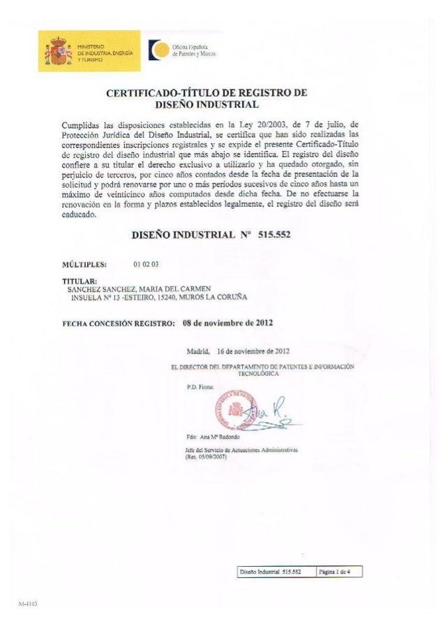 La patente de las marucas de Galuriña