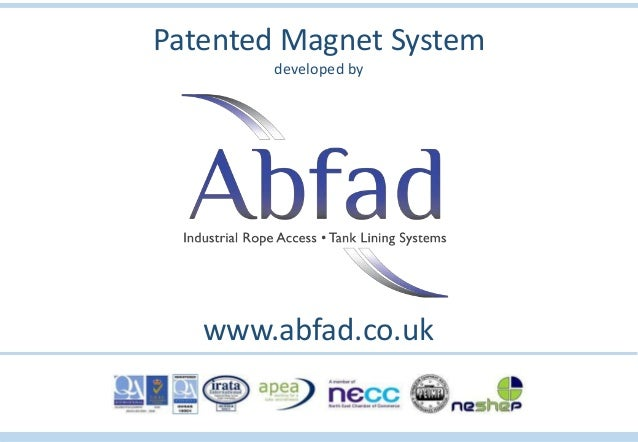 Patented Magnet System developed by www.abfad.co.uk