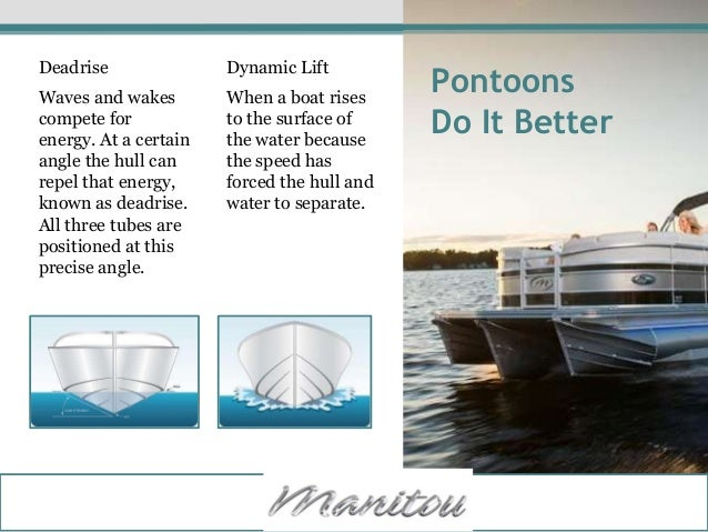 Patented Pontoon Technology For Your New Boat