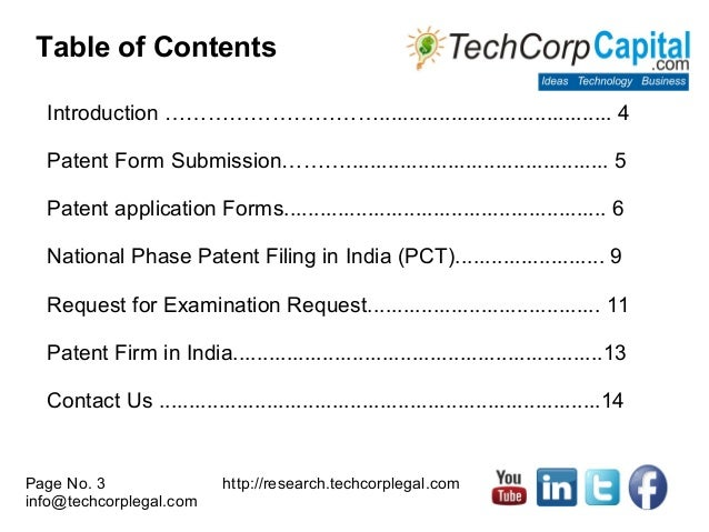 Patent Filing Procedures in India | Patent Protection & Registration …