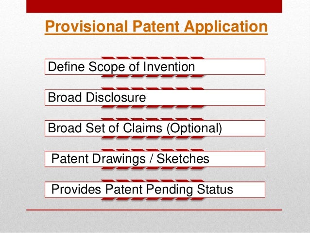 how to complete a patent application