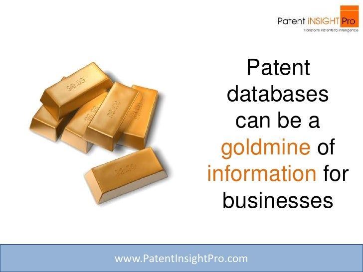Is The Patent Research & Analysis Process Overwhelming Your Organization? Slide 2