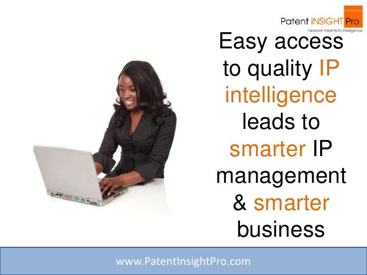 Is The Patent Research & Analysis Process Overwhelming Your Organization? Slide 3