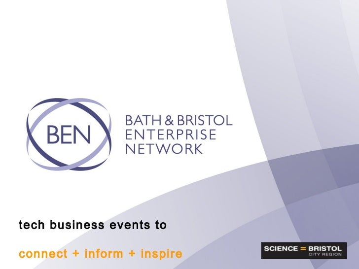 tech business events to connect + inform + inspire