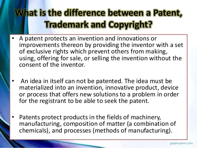 how to tell difference of patents