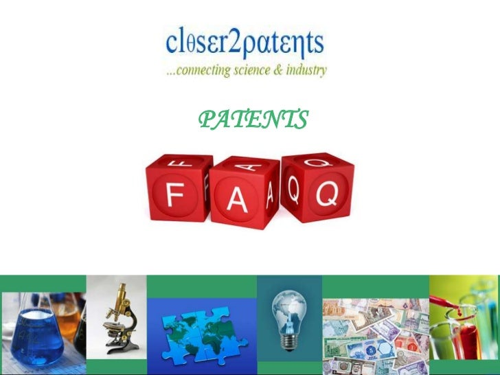 PATENTS<br />