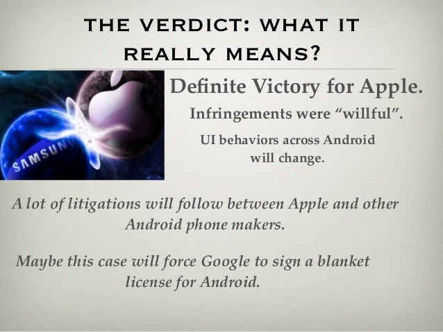 the war of apple and samsung Samsung just scored a massive win against apple in a patent war that seems like it will last forever it obtained a retrial in one of the cases where apple scored a significant victory back in 2012.