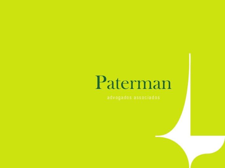 Paterman a d v oga d o s a s s o c i a d o s