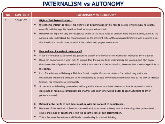 "autonomy vs paternalism essay Theories place personal autonomy in the centre of paternalism and focus on the   ""the object of this essay is to assert one very simple principle, as entitled to."
