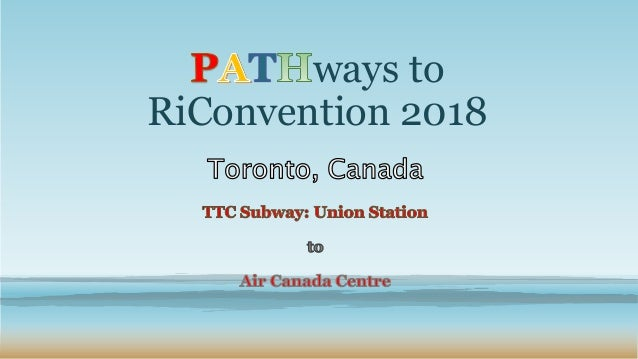 ways to RiConvention 2018